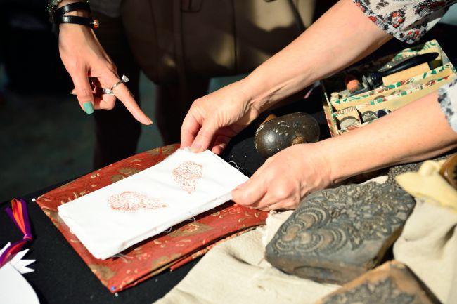 Elisabeth Ferriol: sa passion pour le pinceautage