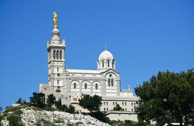 La basilique Notre-Dame de la Garde à Marseille