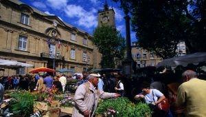 Le marché aux fleurs d'Aix-en-Provence