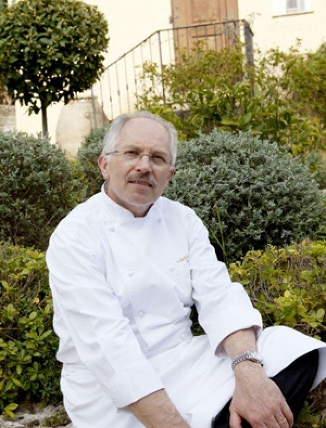 Le Chef Jacques Chibois, La Bastide Saint-Antoine à Grasse - Photographie José Nicolas