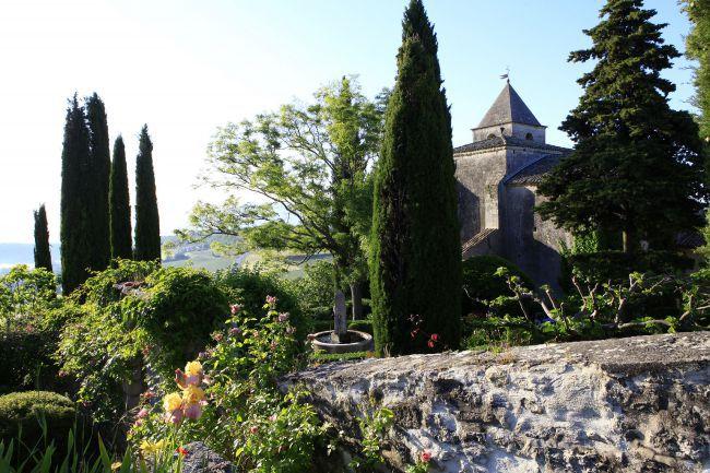 Le jardin du Prieuré de Saint-Michel