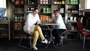 Reine et Nadia Sammut, le duo de chefs de l'auberge La Fenière