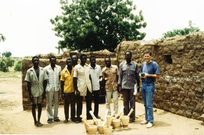 Olivier Baussan au Burkina Faso