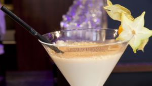 Chocolate Martini, un cocktail pour Noël par le barman du Gray d'Albion à Cannes