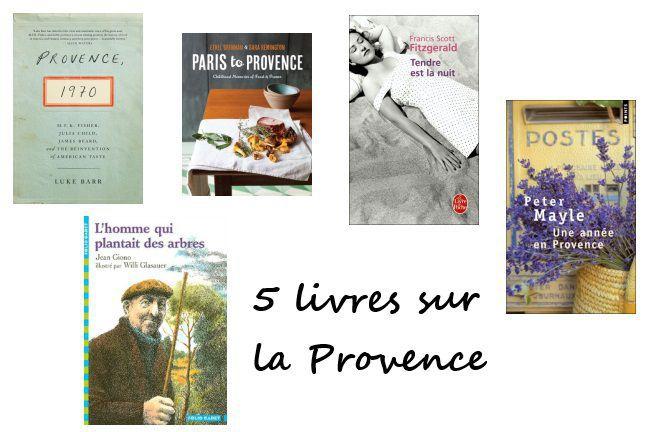 5 livres à lire sur la Provence!