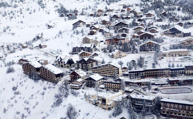 Auron, station de ski dans la vallée du Mercantour