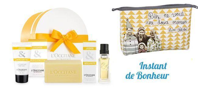 Boîte Jasmin & Bergamote : mini EDT, Lait Corps, Savon - L'Occitane
