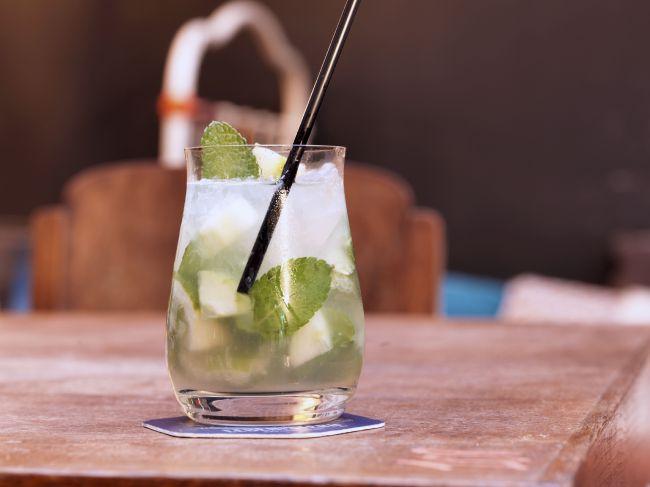 Le cocktail citronné Moscow Mule
