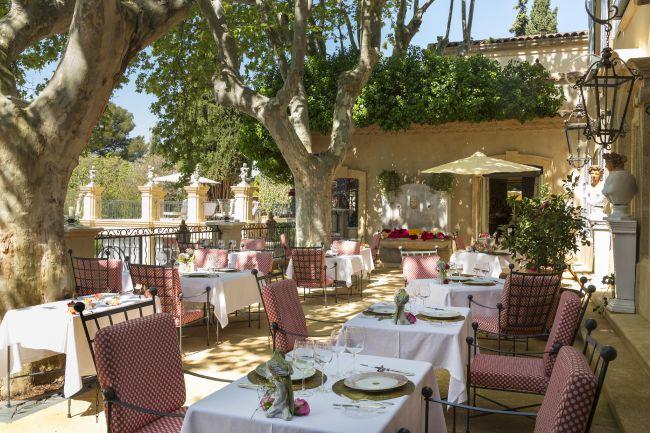 La plus romantique : la terrasse de la Villa Gallici