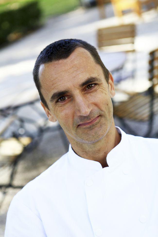 Mathias Bettinger, chef au restaurant du Château des Alpilles