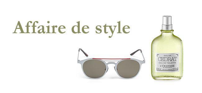 Affaire de style