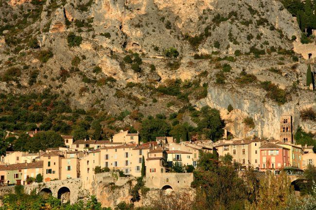 ムスティエ・サント・マリー、プロヴァンスの美しい村
