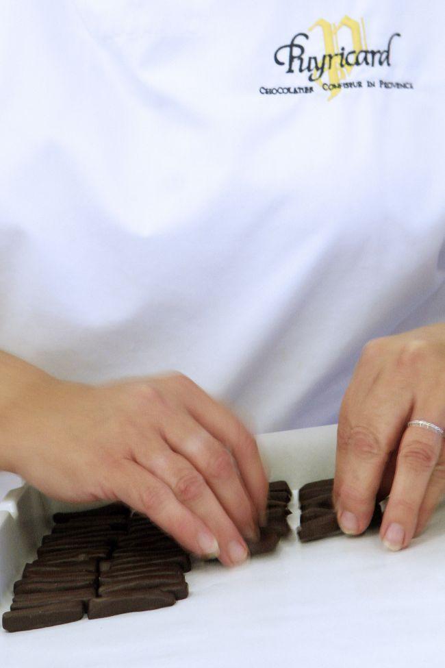 チョコレート店、ピュイリカール プロヴァンス風のカカオ