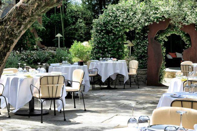レストラン「ムーラン・ド・ムージャン」