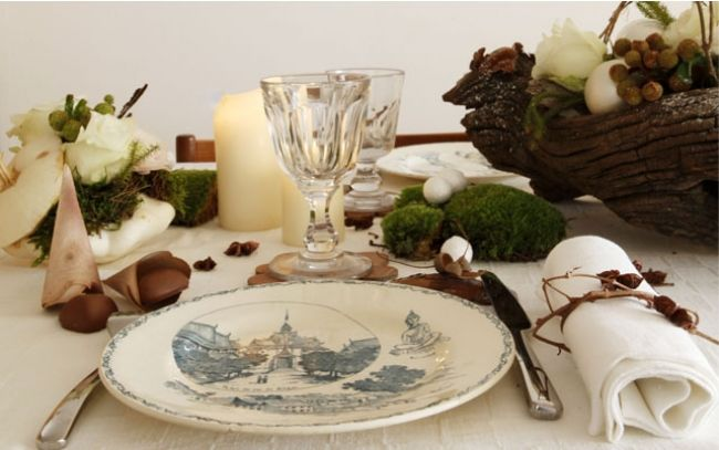ヴァレリー・ヴィスのクリスマス・テーブルコーティネイト