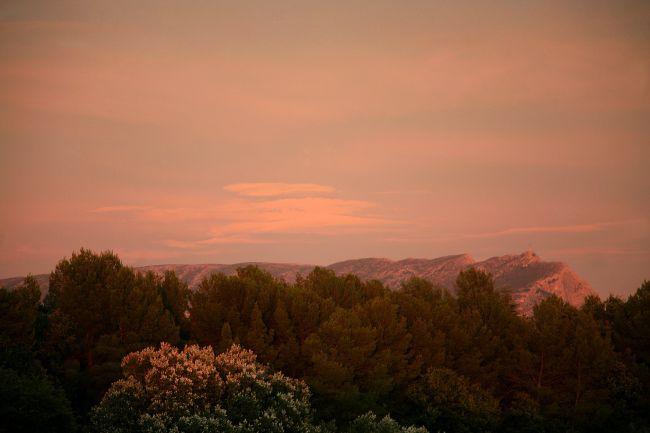 プロヴァンスの秋景色