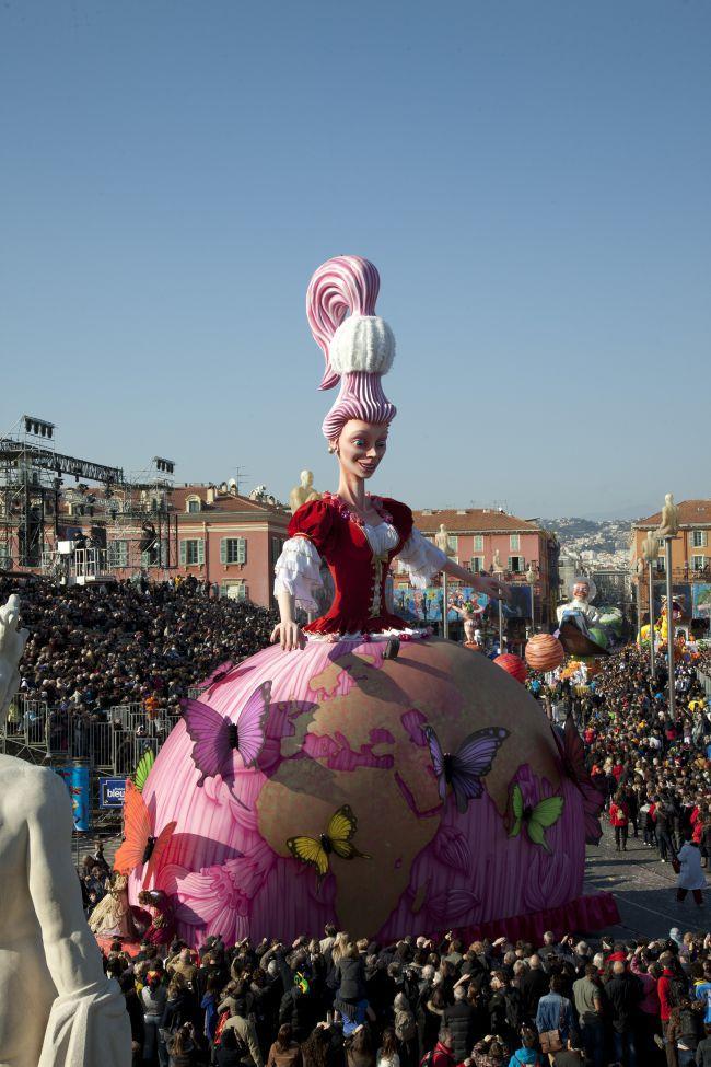 Le Carnaval de Nice / ニースのカーニバル