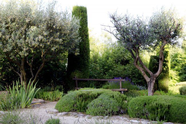 プロヴァンス特有の庭園