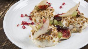 Provençaalse geglaceerde noga door chef-kok Armand Arnal