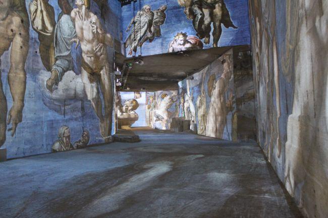 Uma viagem sensorial ao centro da história da arte