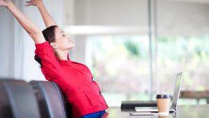 Dicas simples para relaxar no trabalho