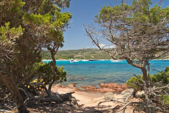 A praia de Rondinara