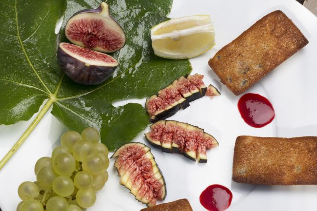 Financiers aux figues