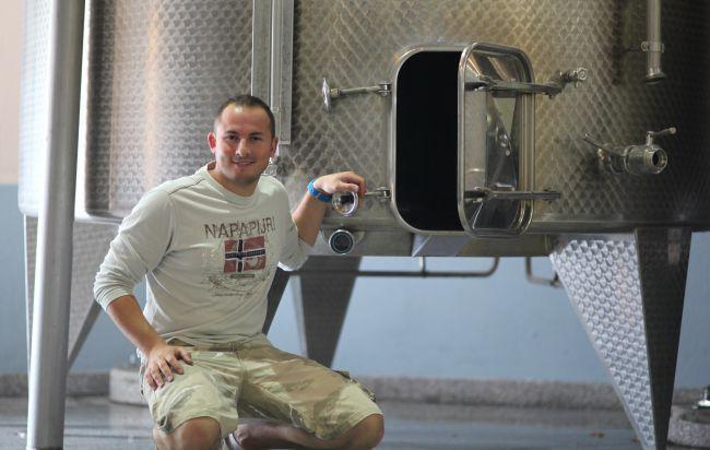 Julien Bréchet, o instinto winemaker