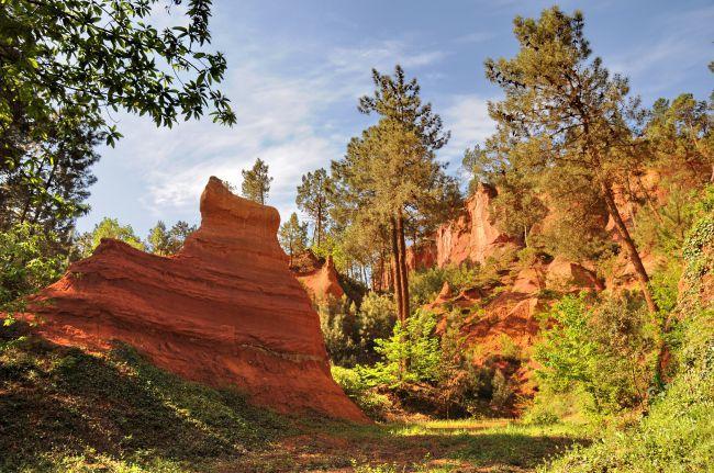 O platô de Bibémus é um lugar privilegiado para uma  caminhada.