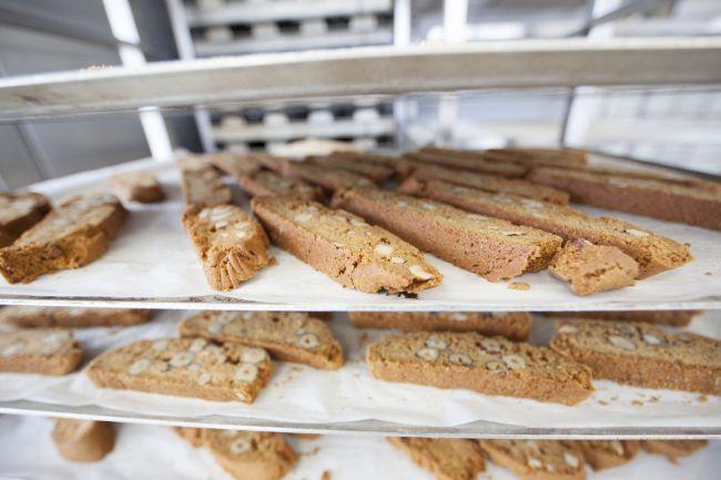 Pães produzidos com fermento natural