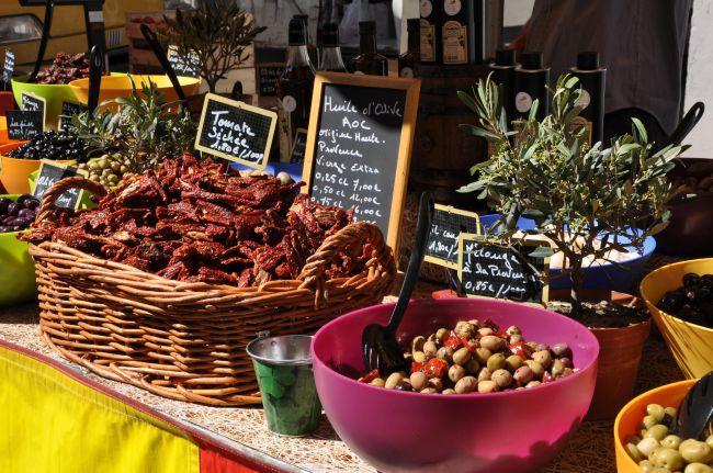 Passeio pelos mais belos mercados da Provence
