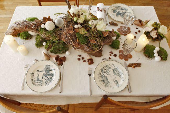 Como decorar a mesa de Natal na Provence?
