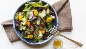 3 рецепта весенних цветочных блюд