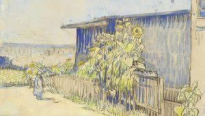 梵高的素描为阿尔勒增光添彩(Arles)