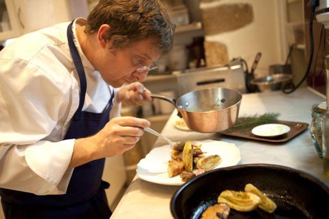 La Bastide de Moustiers餐厅主厨Christophe Martin