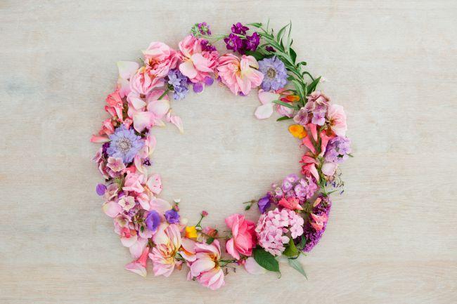 普罗旺斯风情:制作花环