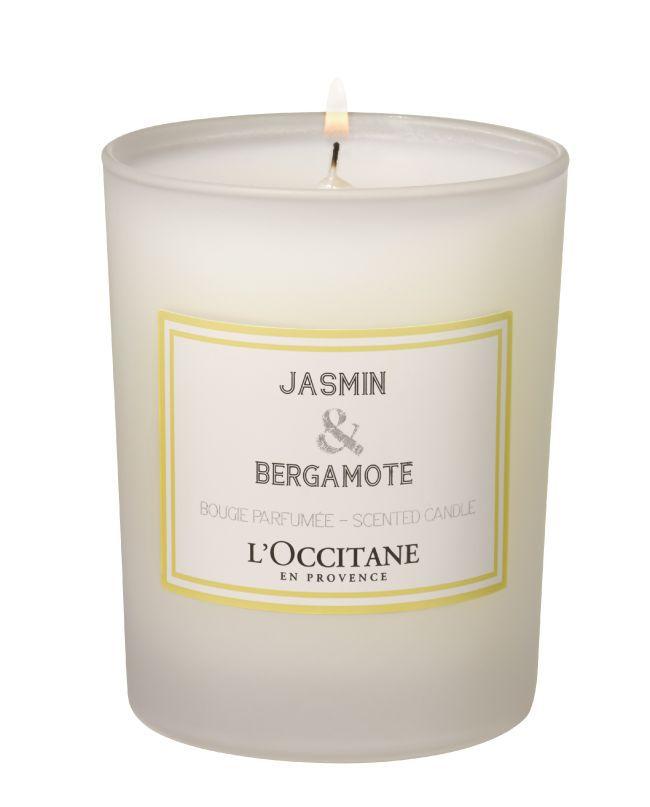 Bougie L'Occitane, Jasmin & Bergamote