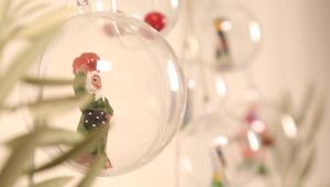 普罗旺斯灵感:制作圣诞花环