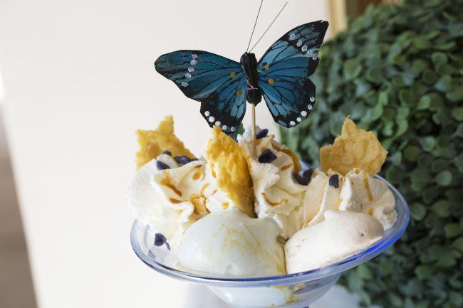 薰衣草冰淇淋:Olivier Perrière的美味甜点