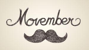 Movember:一起来蓄上小胡子吧