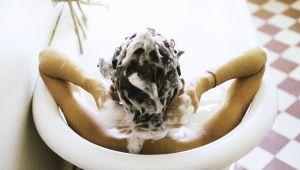 一分钟美容:如何清洁秀发?