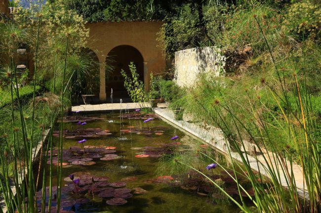 圣母玛利亚温室花园