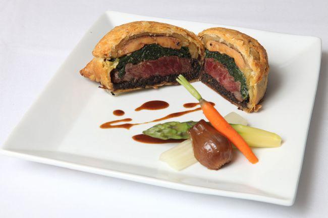 推薦餐點《威靈頓牛肉》