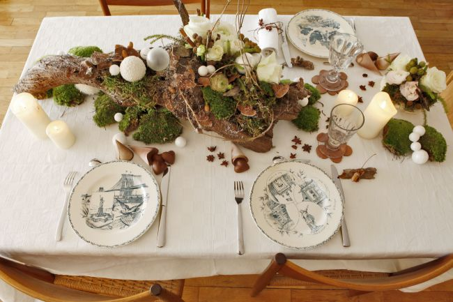 Christmas table in Provence